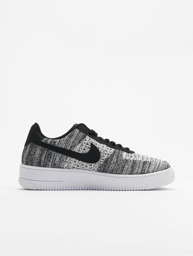 prix d'usine 34a70 bd213 Nike Air Force 1 Flyknit 2.0 Sneakers Black/Pure Platinum/Black/White
