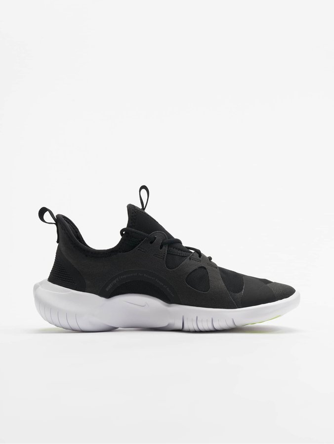 plus récent 8efd7 2d82e Nike Free Run 5.0 (GS) Sneakers Black/White/Anthracite/Volt