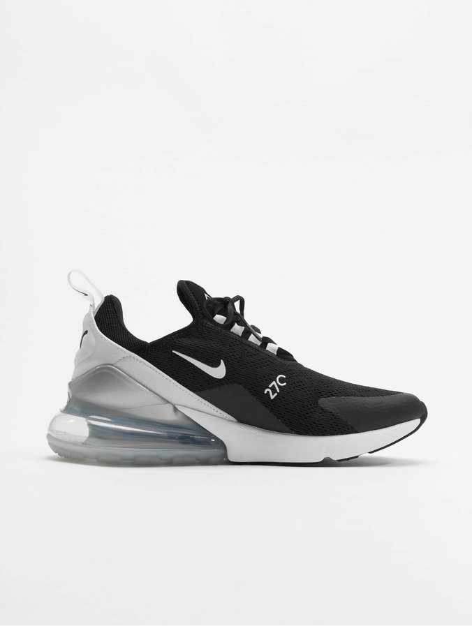 Nike Air Max 270 Sneakers Black/White/Pure Platinum/White