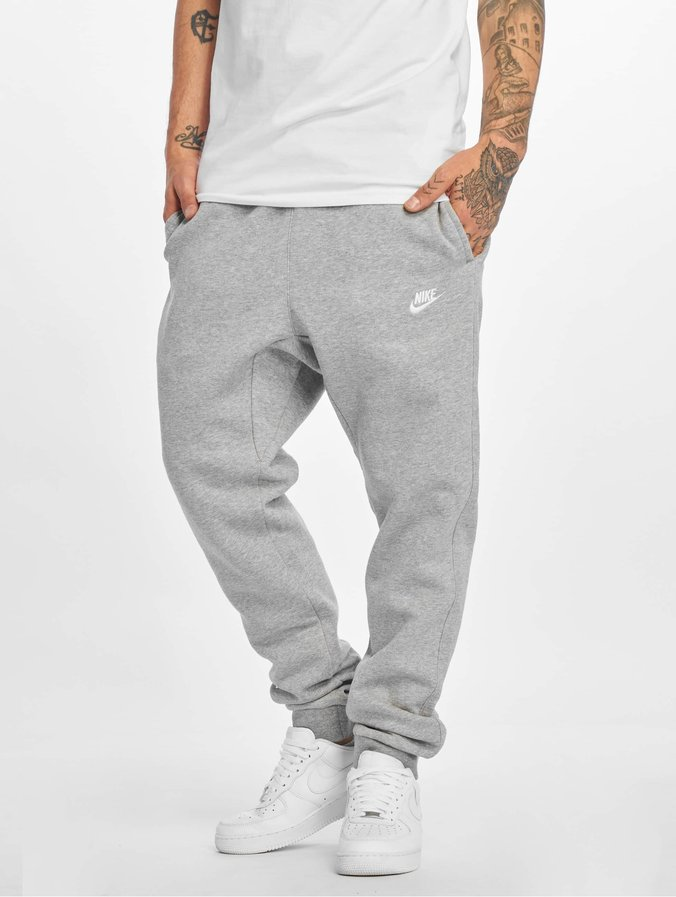 watch get cheap classic style Nike NSW FLC CLUB Sweatpants Dark Grey Heather/White