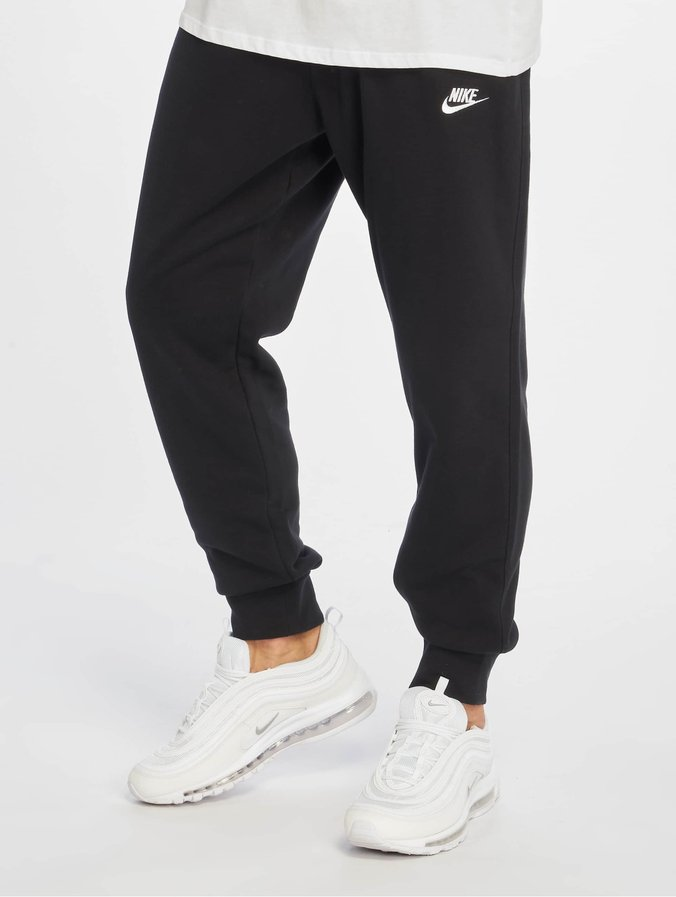 Nike Club Jogger Fit Sweat Pants BlackBlackWhite