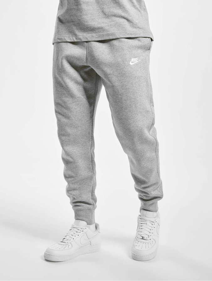 good great fit how to buy Nike Club Sweat Pants Dark Grey Heather/Matte Silvern/White