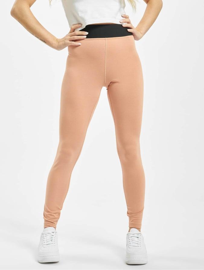 Nike Legasee HW Futura Leggings Rose GoldenWhite