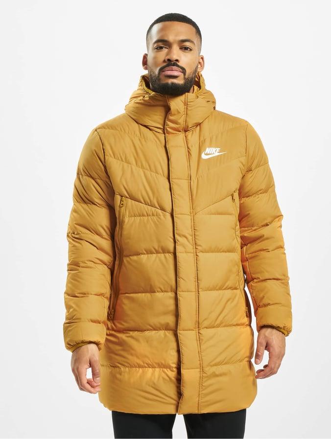 Nike Down Fill Windrunner Parka HD Rus Coat Golden SuedeGolden SuedeGolden SuedeSail