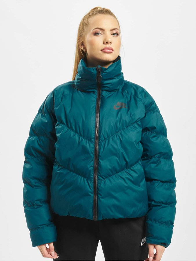 get new newest lower price with Nike Synthetic Fill Puffer Jacket Midnight Turq/Black