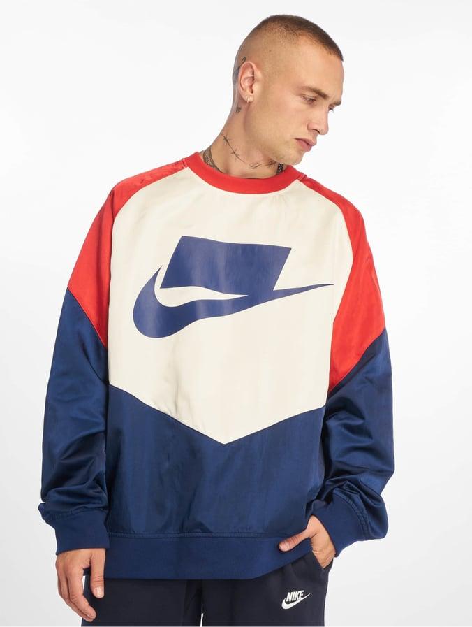 Nike Crew Woven Sweatshirt Blue VoidUniversity RedSailBlue Void