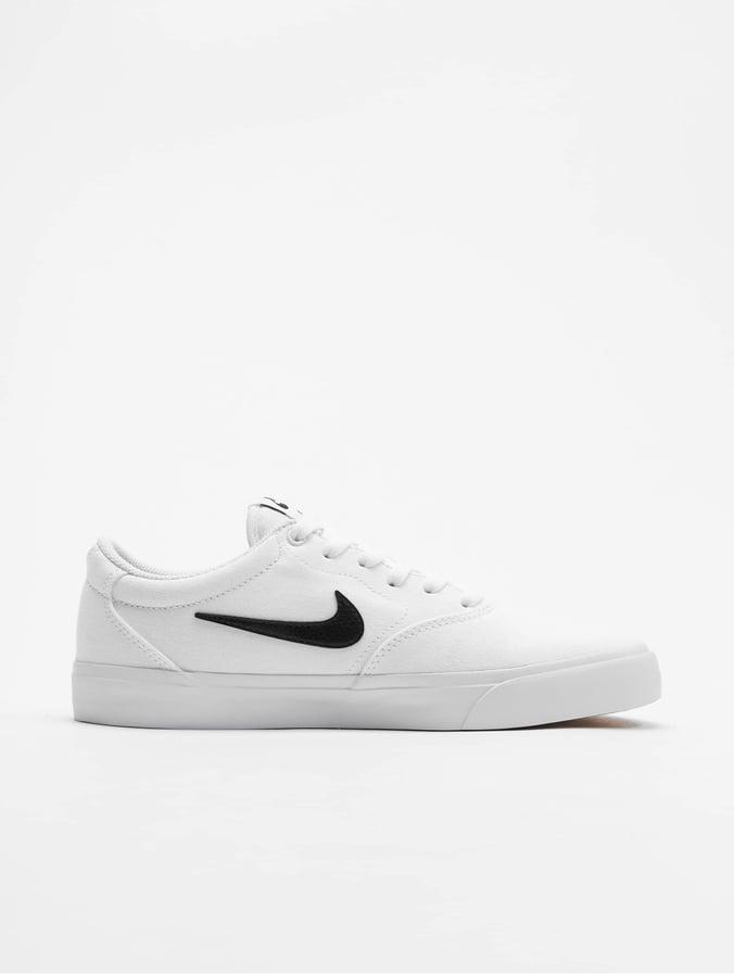 Nike SB Charge SLR Sneakers WhiteBlackWhiteGum Light Brown