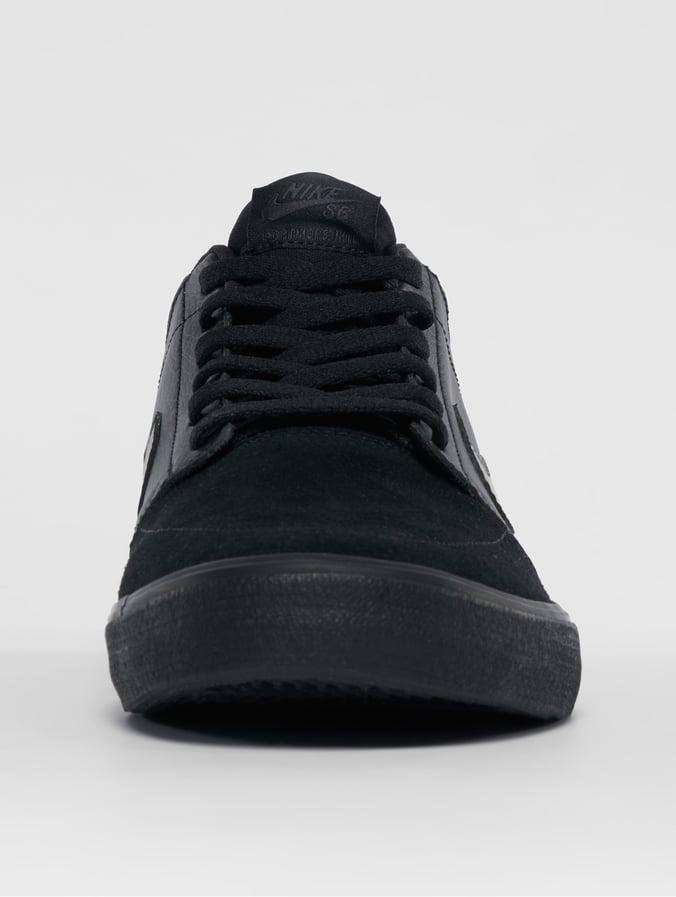 nike sb solarsoft portmore ii mid chaussures hommes séquoia noir