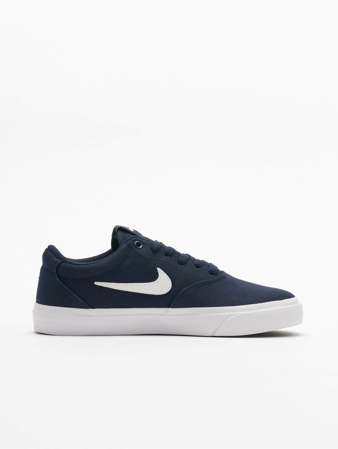 Nike SB Charge Canvas Sneakers ObsidianWhite