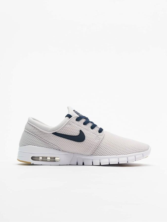 Nike Stefan Janoski Max Sneakers Vast Grey/Obsidian/White/Gum Yellow