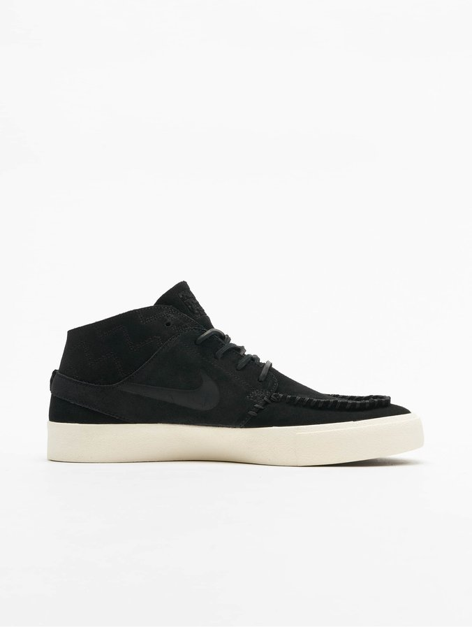 Nike SB Zoom Janoski Mid RM Crafted Sneakers BlackBlackPale Ivory