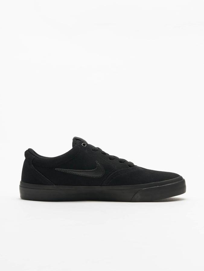 Nike SB Charge Suede Sneakers BlackBlackBlack