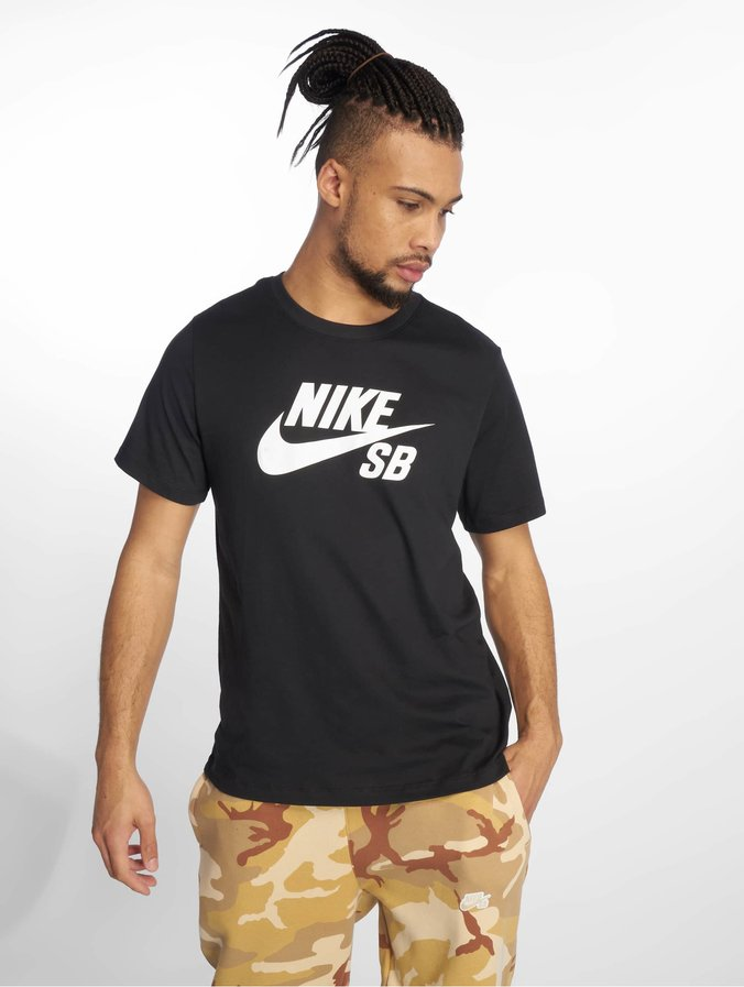 stable quality detailed look new products Nike SB Dri-Fit T-Shirt Black/White