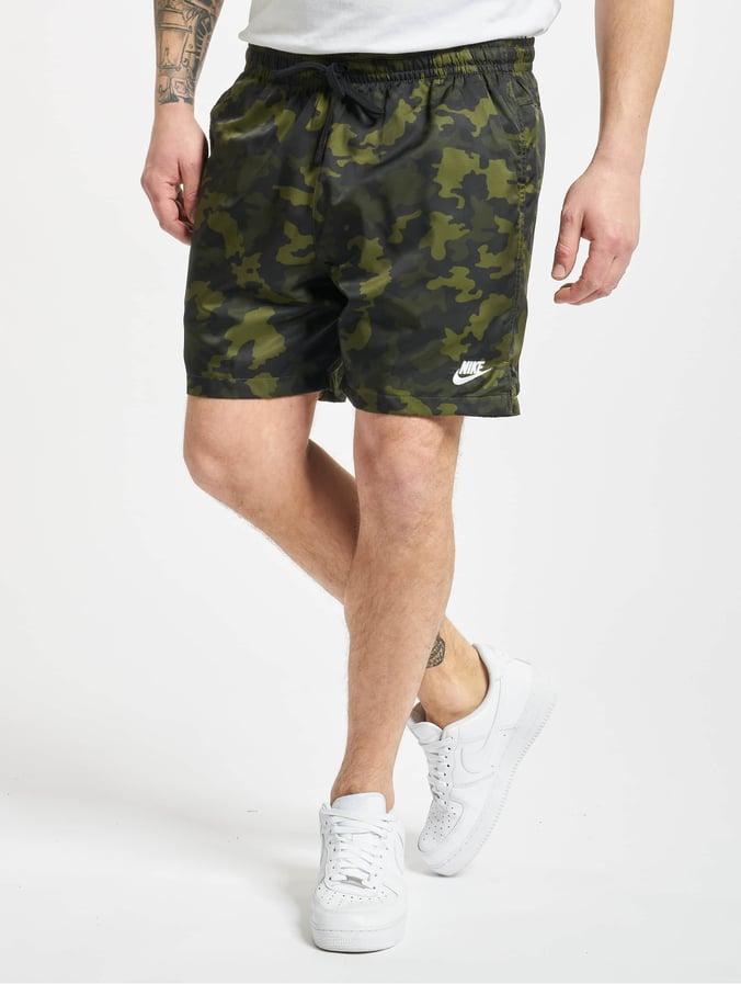 Nike Woven Flow Camo Shorts Legion GreenBlackTreelineWhite
