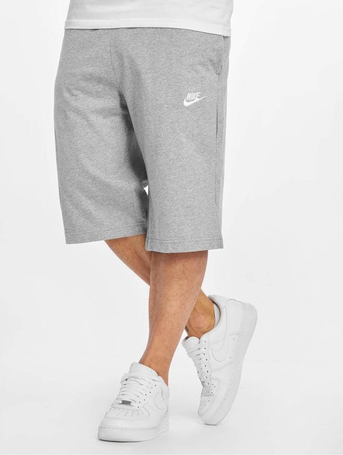 Nike NSW JSY Club Shorts Dark Grey HeatherWhite