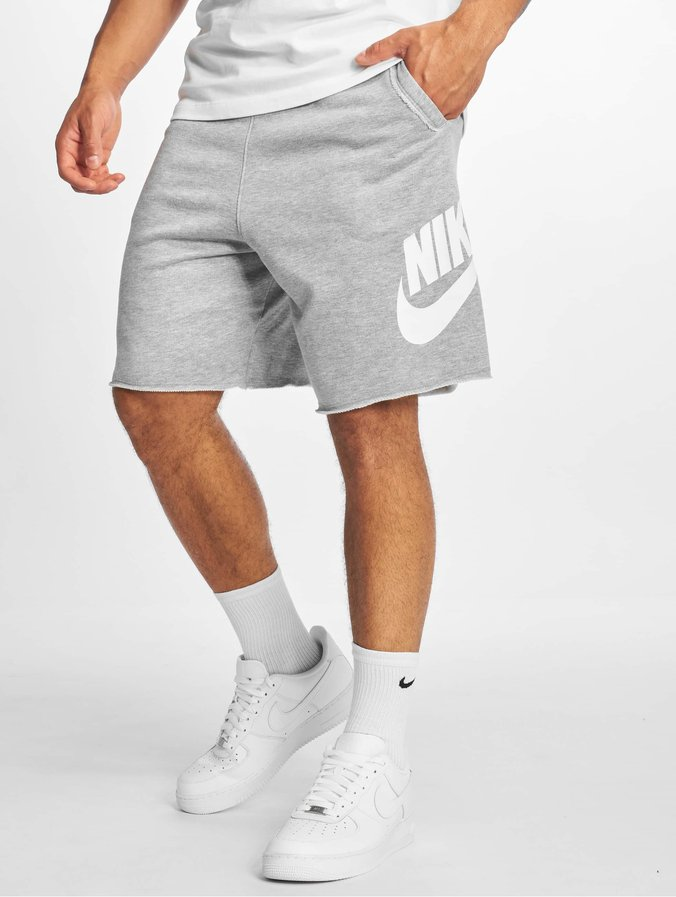 Nike M Nsw He Short Ft Alumni Shorts Dk Grey HeatherDk Grey HeatherWhite