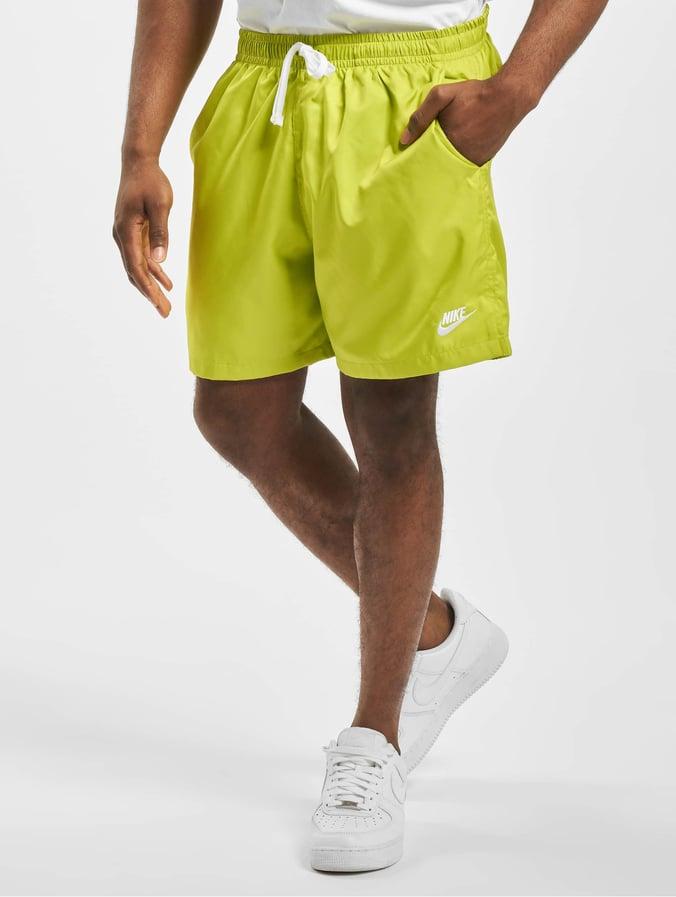 Nike Woven Flow Shorts Bright CactusWhite