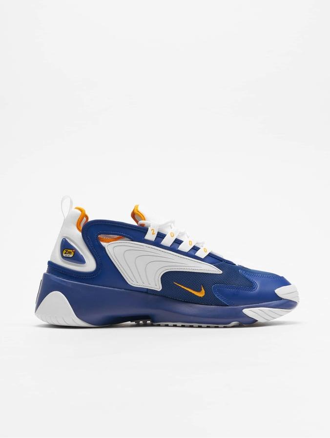 Nike Zoom 2K Sneakers Deep Royal BlueWhiteOrange Peel