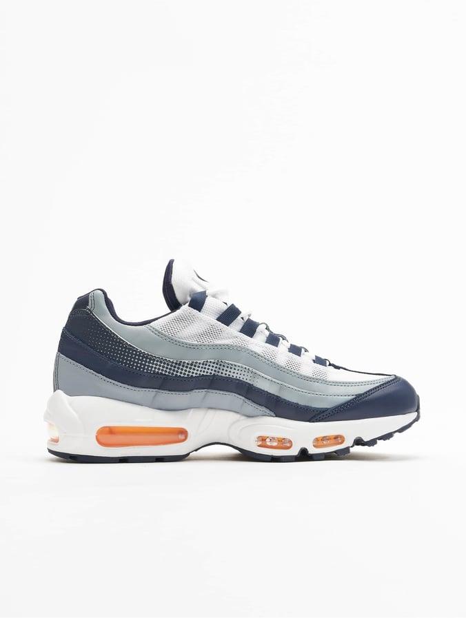 Nike Damen Sneaker Air Max 95 Weiß Navy Blau Orange