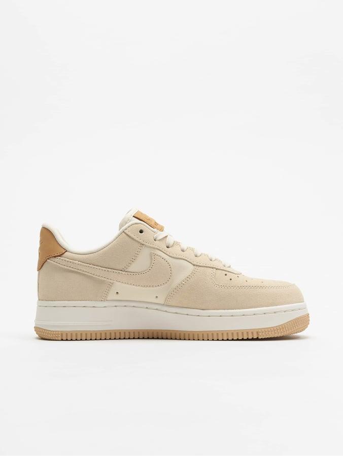 Damen nike Weiß gelb Air Force 1 07 Sneaker