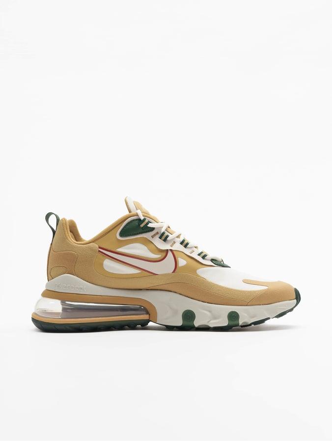 Nike Air Max 270 React Sneakers Club GoldenLight BoneFlt GoldenWheat