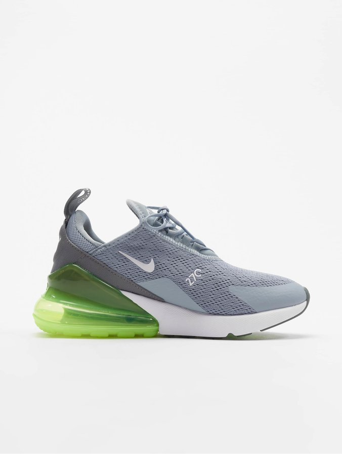 Nike Air Max 270 Sneakers Obsidian Mist/White/Lime Blast/Cool Grey