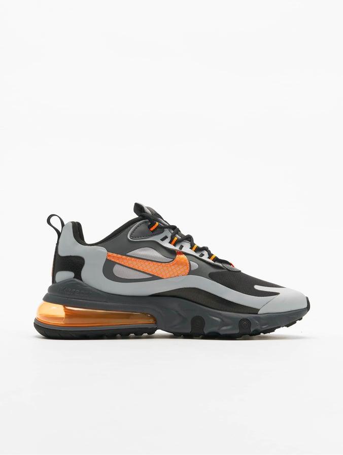 Nike Air Max 270 React WTR Sneakers Wolf GreyTotal OrangeBlackDark Grey
