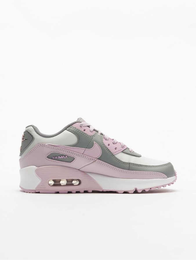 Official Images: Nike Air Max 90 GS Grey White Pink