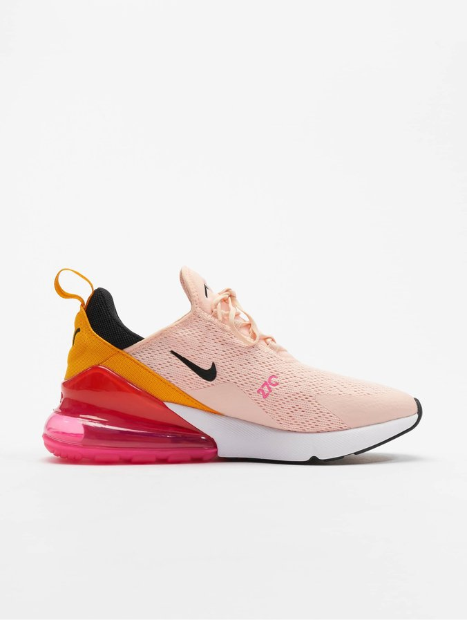 Nike Air Max 270 Sneakers Washed Coral/Black/Laser Fuchsia