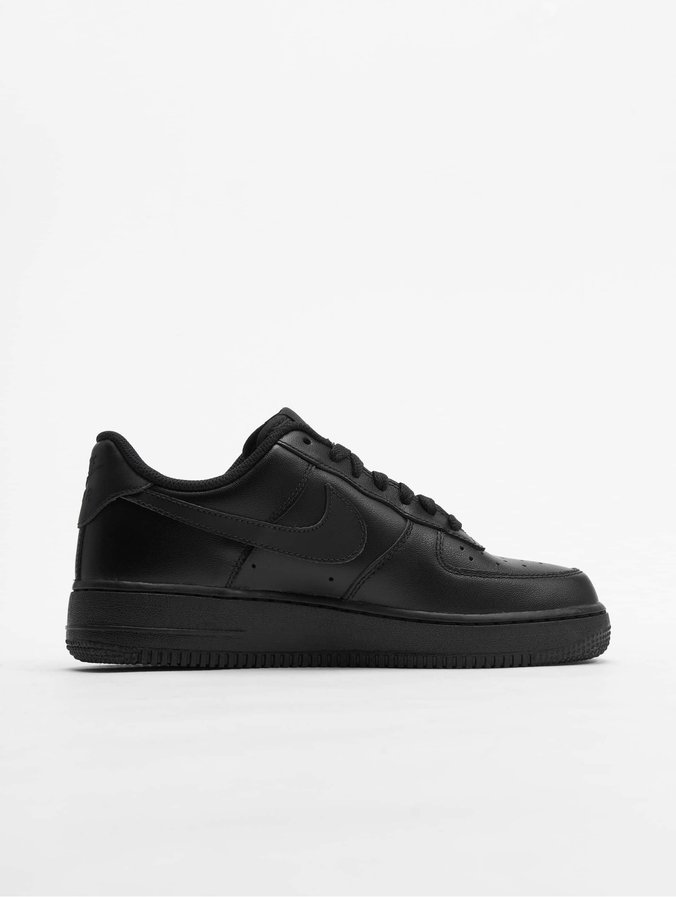 differently hot sale online run shoes Nike Air Force 1 '07 Basketball Shoes Black/Black