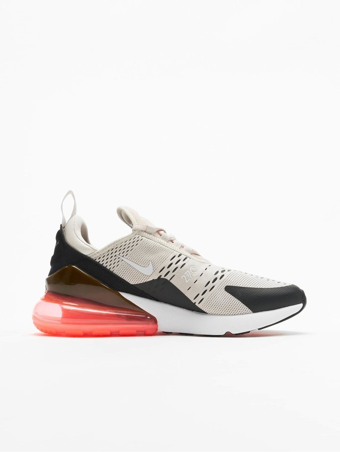 Nike Herren Sneakers Air Max 270 aus Mesh Schwarz Textil