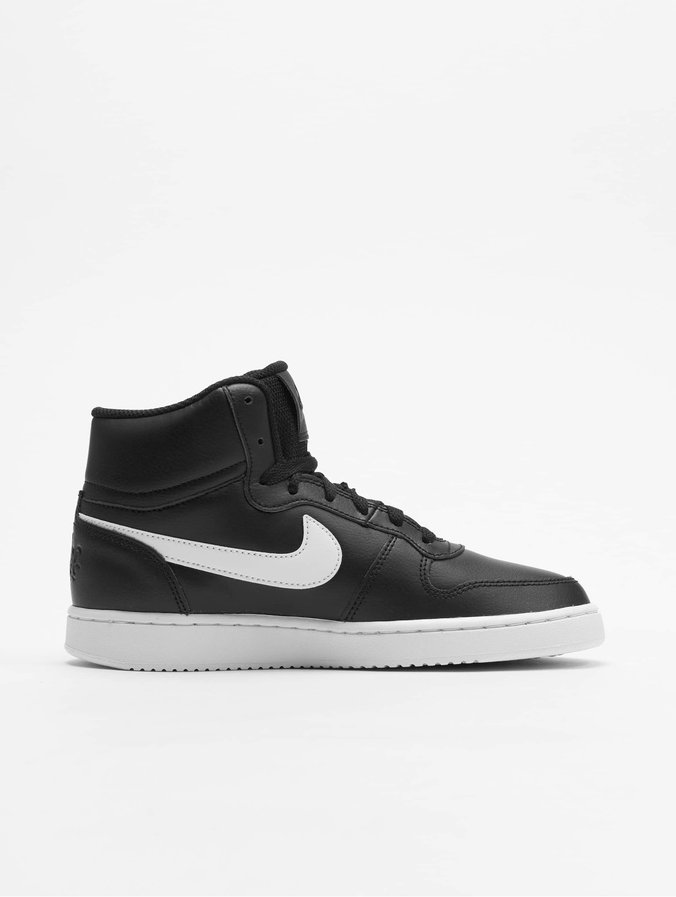 1f33f247c1f64 Nike Damen Sneaker Ebernon Mid in schwarz 659034