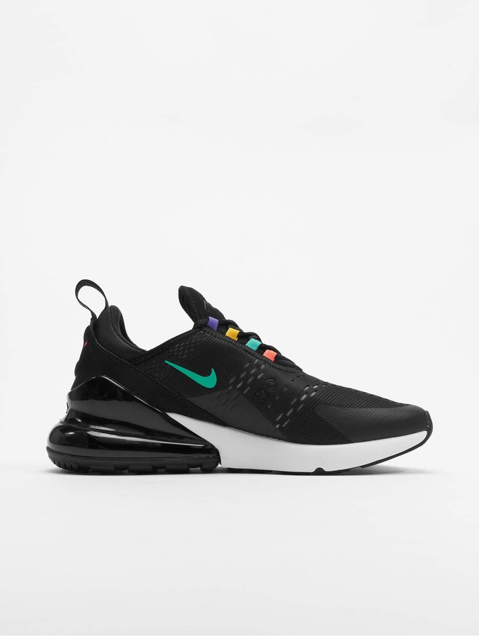 Nike Air Max 270 Sneakers Black/Flash Crimson/University Golden