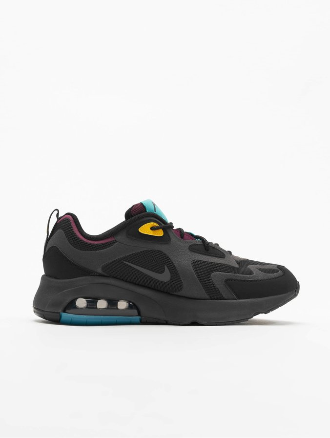 good special sales unique design Nike Air Max 200 Sneakers Black/Anthracite/Bordeaux