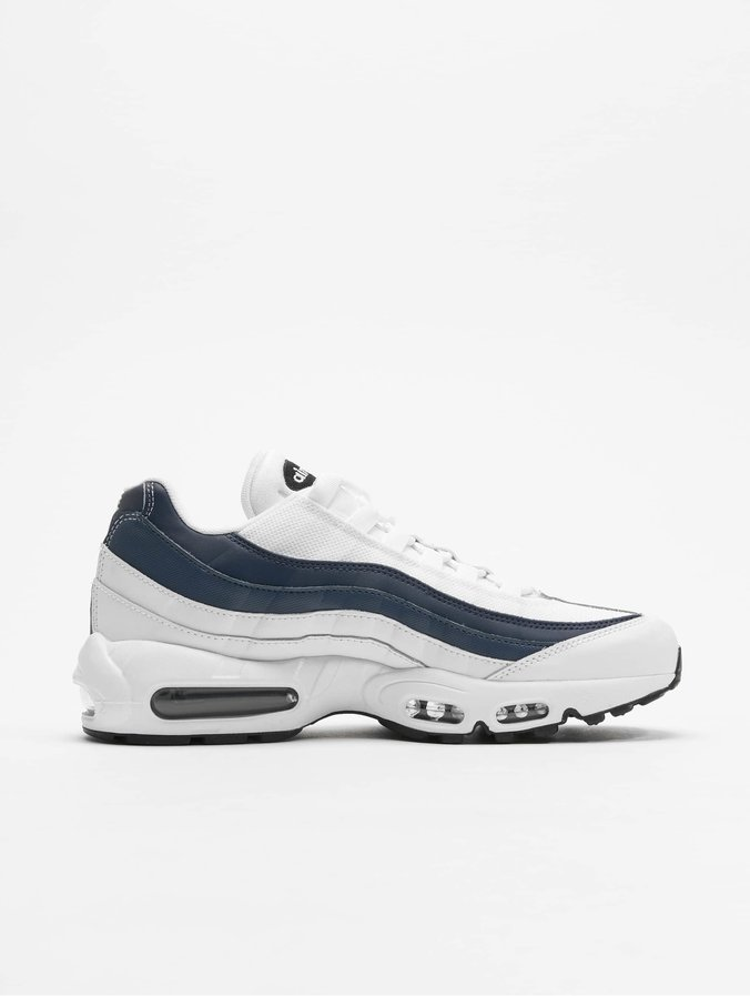 pre order outlet store aliexpress Nike Air Max 95 Essential Sneakers White/White/Midnight Navy/Monsoon Blue