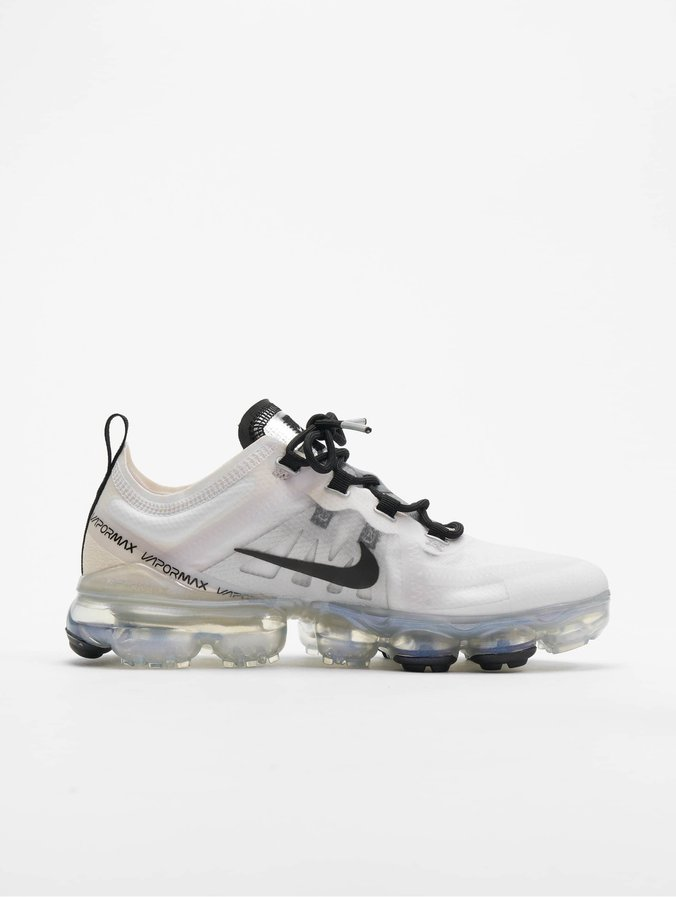 check out aef51 80268 Nike Air Vapormax 2019 Sneakers White/Black/Pale Ivory/Metallic_Silvern
