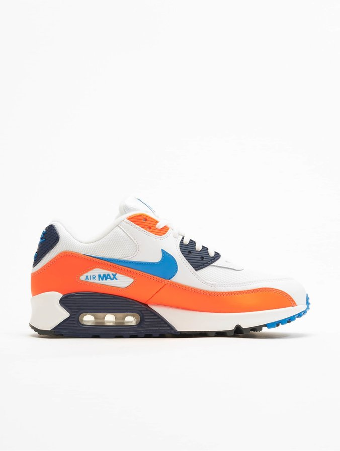 special sales the best lowest price Nike Air Max 90 Essential Sneakers White/Photo Blue/Total Orange