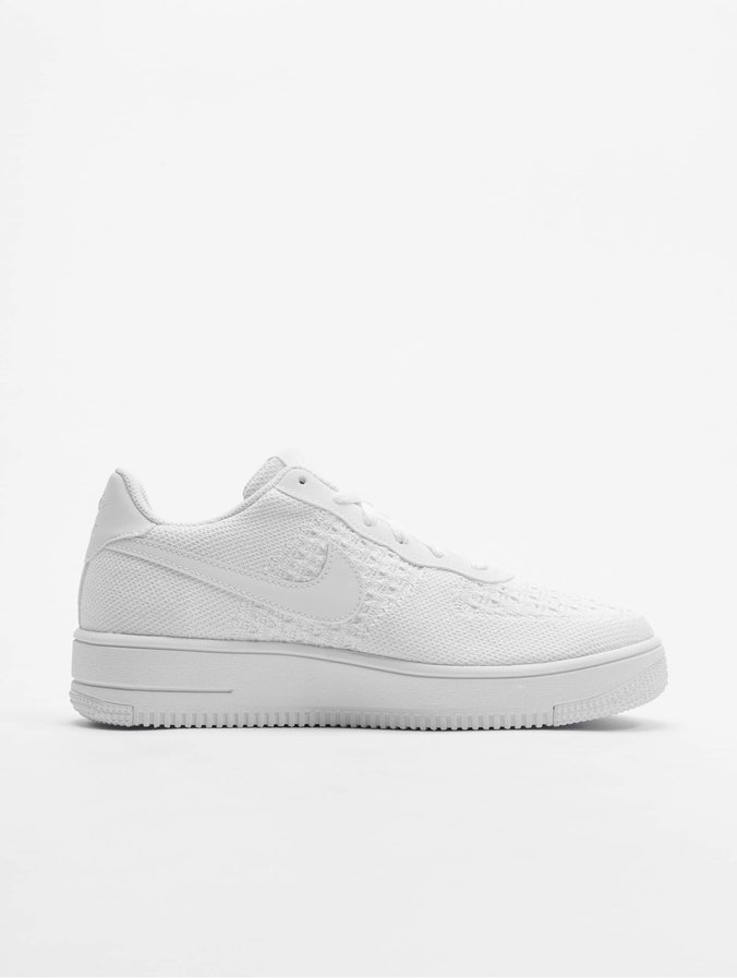 Nike Air Force 1 Flyknit 2.0 (GS) Sneakers WhiteWhiteWhite