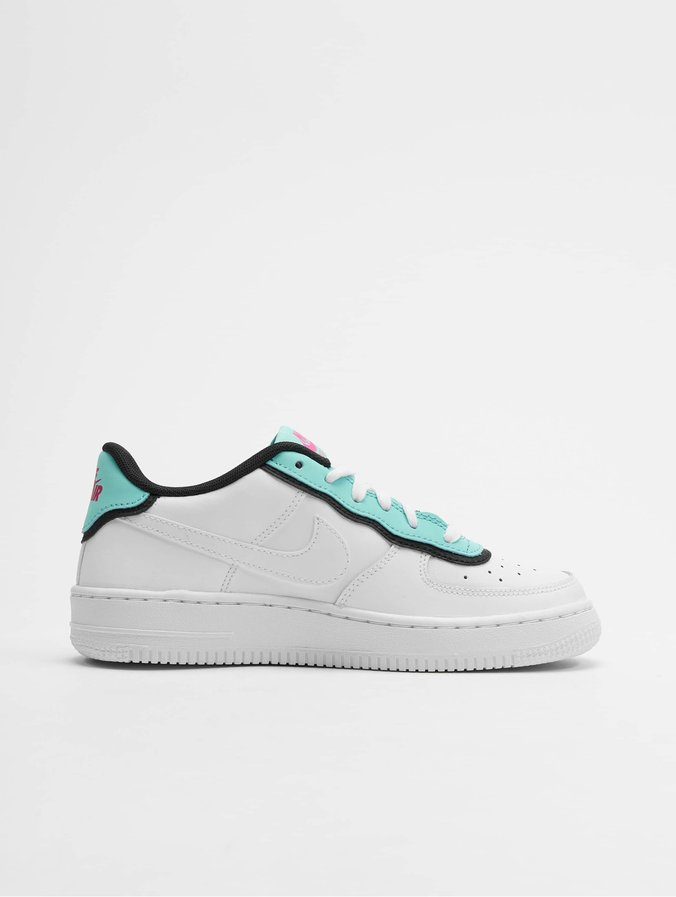 Nike Air Force 1 LV8 1 DBL GS Sneakers WhiteWhiteLight AquaBlack