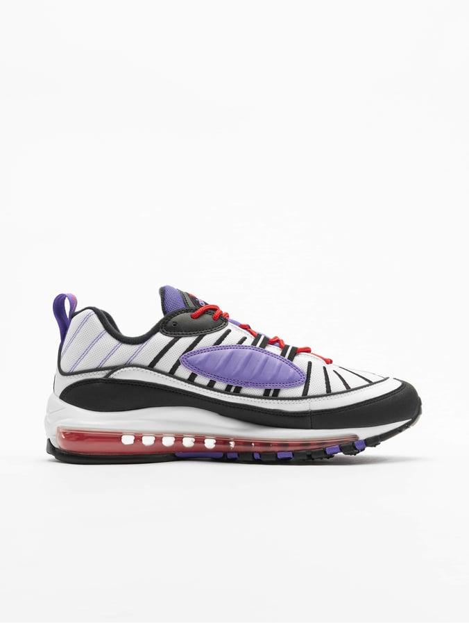 Nike Air Max 98 Sneakers WhiteBlackPsychic Purple