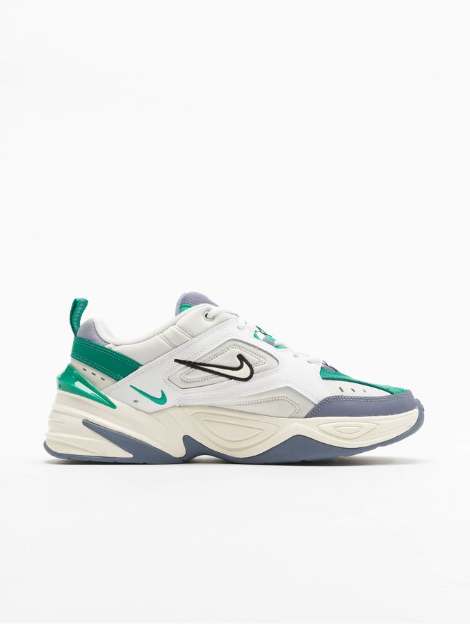 official photos cost charm fashion Nike M2K Tekno Sneakers Platinum Tint/Sail/Lucid Green
