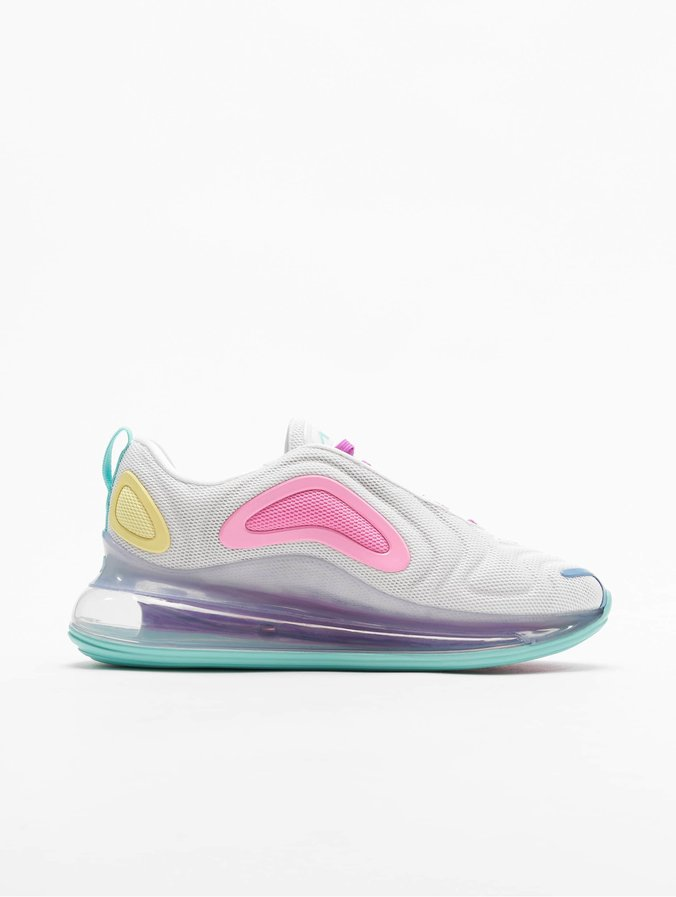 on feet images of sale retailer details for Nike Air Max 720 Sneakers White/Light Aqua/Chalk Blue/Psychic Pink