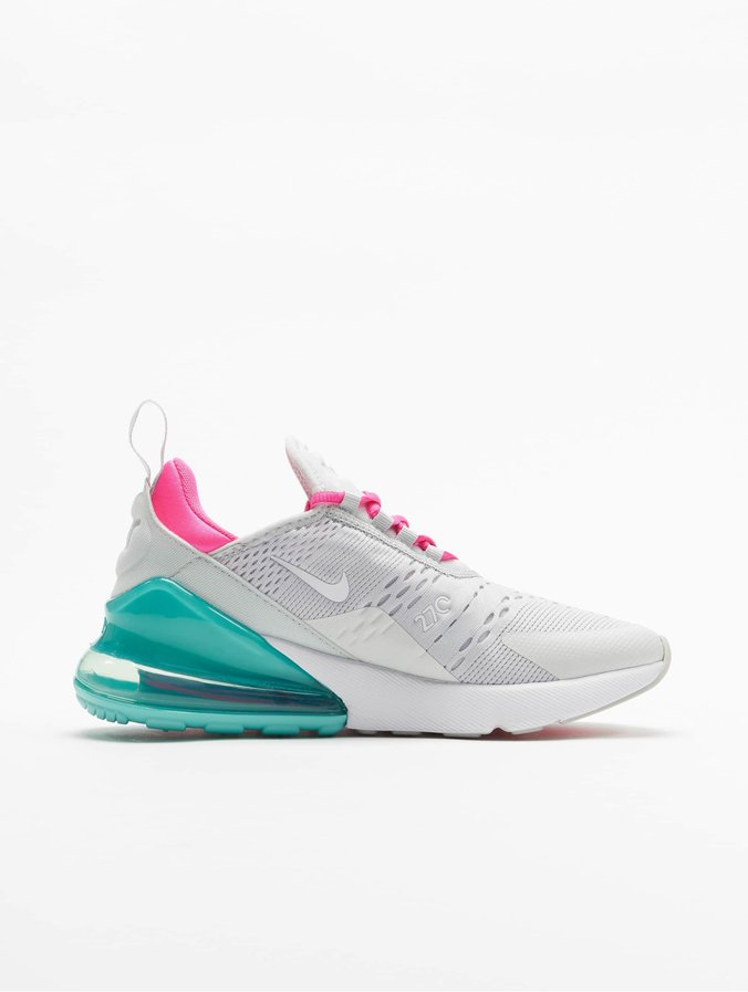 coupon code great look hot sales Nike Air Max 270 Sneakers Pure Platinum/White/Pink Blast Off White