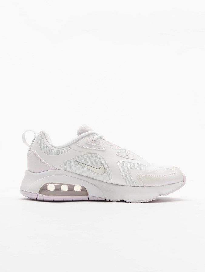 Nike Air Max 200 Sneakers White/Barely Grape/Metallic Silvern