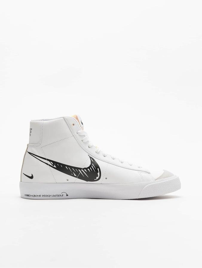 Nike Herren Sneaker Blazer Mid Vintage '77 in weiß 742171