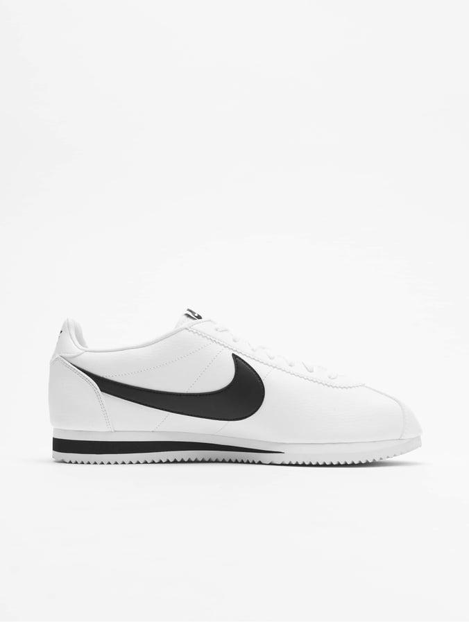 5d4e4becef1 Nike Classic Cortez Leather Sneakers White/Black