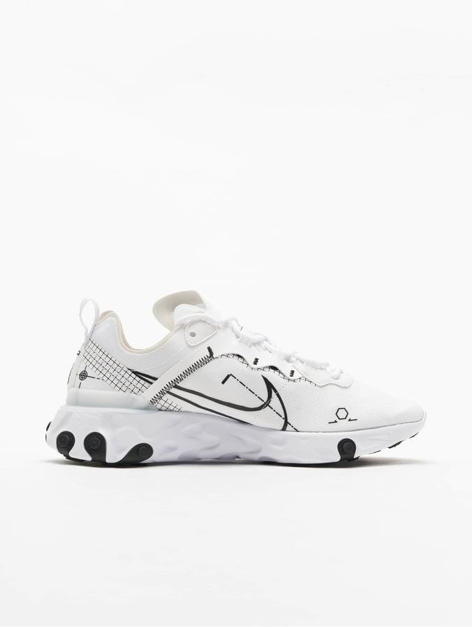 Sneakers, Nike react element, str. 45, Hvid