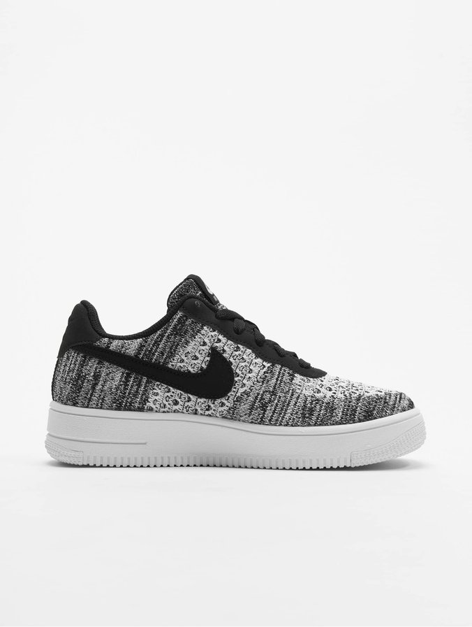 Nike Air Force 1 Flyknit 2.0 (GS) Sneakers BlackPure PlatinumWhiteWhite