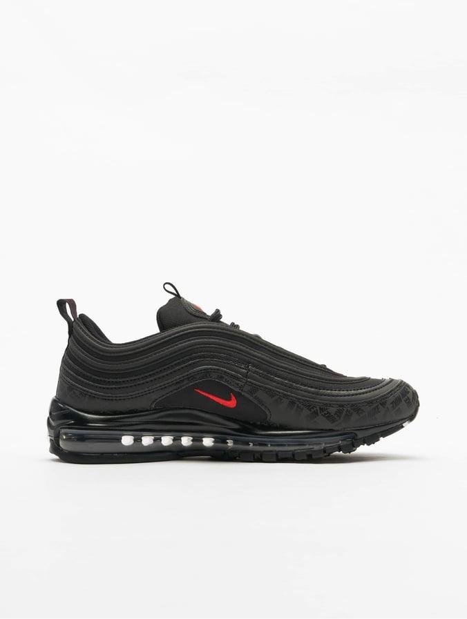 Nike Air Max 97 Sneakers BlackUniversity RedBlack