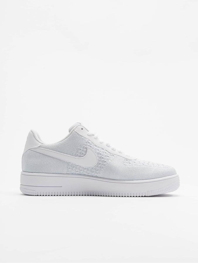 Nike Air Force 1 Flyknit 2.0 Sneakers WhitePure PlatinumPure PlatinumWhite